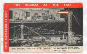 The Skyride, thrill ride of A Century of Progress Exposition, Chicago, 1933