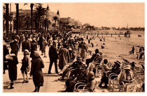 France Cannes Promenade de la Croisetto