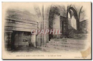 Abbey of Mont Saint Michel The guardroom