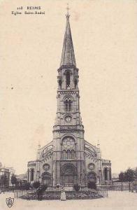 Eglise Saint-Andre, Reims (Marne), France, 1900-1910s