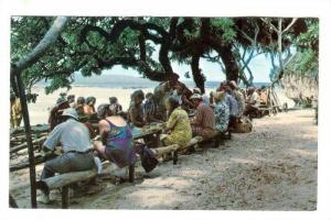 ´Oholei Beach, Nuku´Alofa , Tonga, Plantain punch stand, 40-60s #2