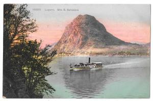 Switzerland Lugano Paradiso Monte S Salvatore Postcard