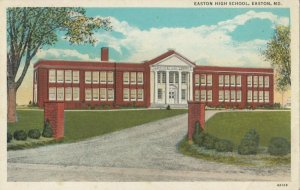 EASTON , Maryland, 1910-30s ; High School