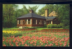 Westport, Connecticut/CT Postcard, The Red Barn Restaurant, Merritt Parkway