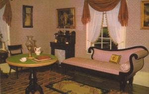 Parlor of the Doctor's House, Upper Canada Village, MORRISBURG, Ontario, Cana...