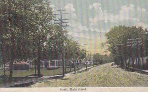 Maine Pittsfield South Main Street