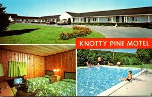 Pennsylvania Allentown Knotty Pine Motel