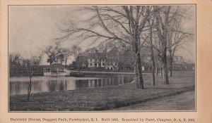 PAWTUCKET, Rhode Island, 1901-1907; Daggett House, Daggett Park