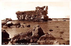 Lebanon Liban Byblos Le port phenicien Ruins