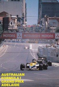 ADELAIDE , Australia , 1970-80s; Australian Formula I Grand Prix car race