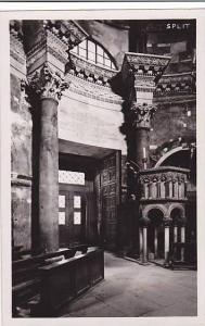 RP;  SPLIT , Croatia, 20-40s ; interior church