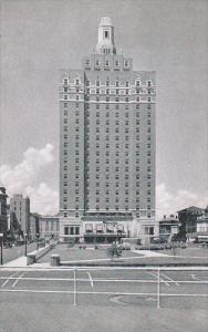 ATLANTIC CITY, New Jersey, 1940-1960´s; Hotel Claridge, Fountain