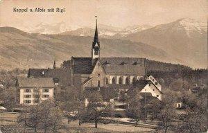 SWITZERLAND~Kappel am Albis mit Rigi - Photo: E. Goetz No. 3147~PHOTO POSTCARD
