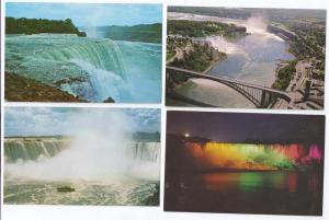 Canada Niagara Falls Views Horseshoe American 4 Cards