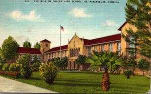 Florida St Petersburg The Million Dollar High School 1948