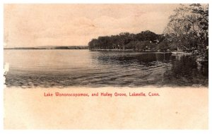 Connecticut  Lakeville , lake Wononscopomoc , and Holly Grove