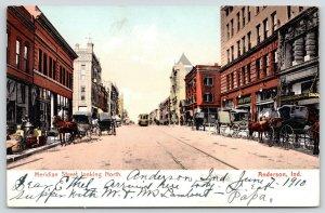 Anderson Indiana~Meridian Street~Lion Department Store~Sidewalk Sale~Buggies~'05