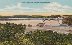 Arkansas Norfork Dam Near Mountain Home Curteich
