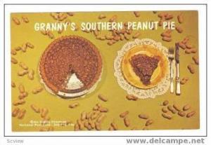 Recipe   Granny´s original Southern Peanut Pie, 40-60s
