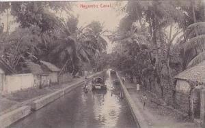 Sri Lanka Ceylon Negambo Canal
