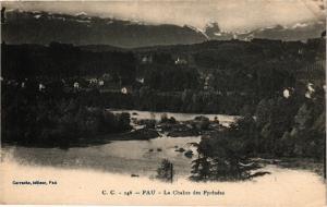 CPA PAU - La CHAINEs des Pyrenées (126563)