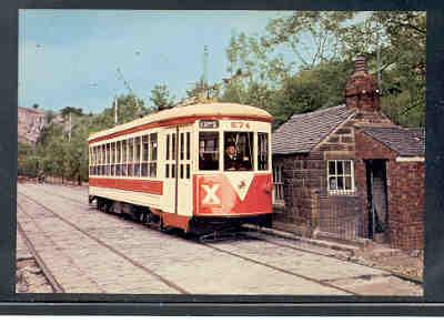 NY Trolley at British tramway Museum colour Postcard unused