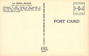 Federal Building in Boise Idaho ID