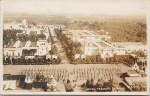 Naval Training Station San Diego CA Birdseye c1918 RPPC Postcard F29
