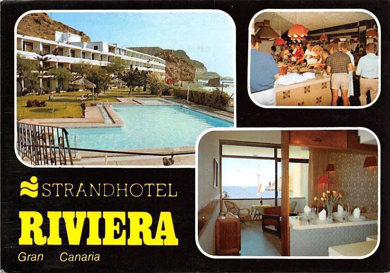 spain mogan gran canaria strand hotel riviera playa del cura swimming pool hippostcard. Black Bedroom Furniture Sets. Home Design Ideas