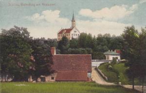Schloss, Wellenburg mit Restaurant, Bavaria, Germany, 00-10s