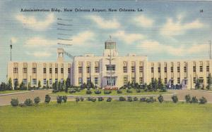 Administration Building, New Orleans Airport, New Orleans, Louisiana, PU-1947