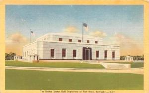 US Kentucky, The United States Gold Depository at Fort Knox