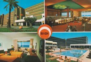 Valencia Sidi Palace Hotel Postcard