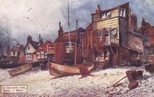 DEAL, Kent, England, UK, 1900-10s; An old-world nook, fishing boats, TUCK # 7115