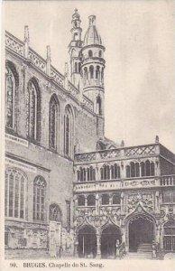 Belgium Bruges Chapelle du Saint Sang