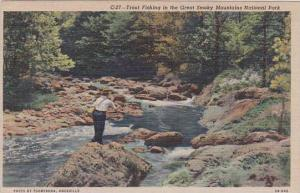 Tennesse Knoxville Trout Fishing In The Great Smorky Mountains National Park