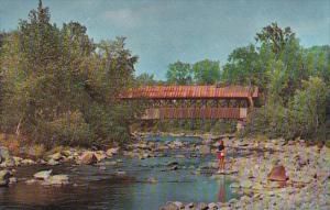 Covered Bridge At Lancaster New Hampshire