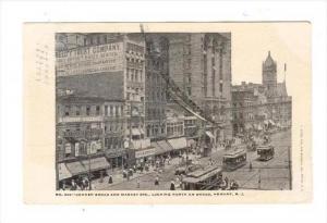 Corner Broad & Market Streets, Looking North on Broad, NEWARK , New Jersey ,P...