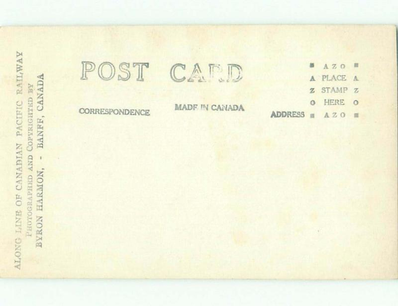 Pre-1949 rppc NICE VIEW Banff Alberta AB W1039