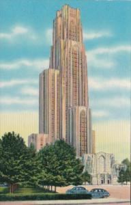 Pennsylvania Pittsburgh Cathedral Of Learning & Foster Memorial University Of...