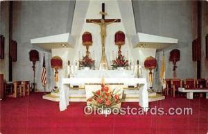Churches Vintage Postcard Waikiki, Honolulu, Hawaii Vintage Postcard Sanctuar...