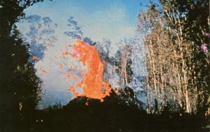 HI - Hawaiian Volcano Spatter Cone