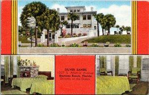 Silver Sands - Daytona Beach Florida Postcard PC Kropp unposted
