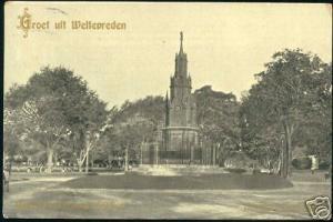 indonesia, JAVA WELTEVREDEN, Monument General Michiels