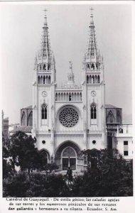 Ecuador Catedral de Guayaquil Real Photo RPPC