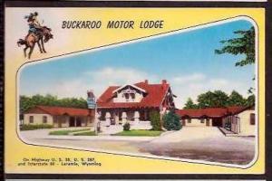 Wy Laramie Buckaroo Motor Lodge