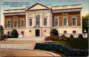 Lot of 6 : Virginia Richmond VA Linen Church mansion museum Postcards