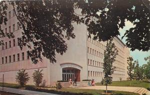 Bloomington Indiana~University~Corner Entrance~Geology Building~1974 Postcard