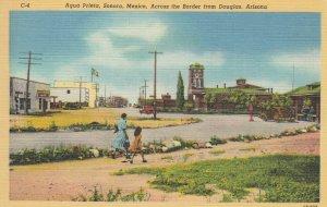 AGUA PRIETA , Mexico , 1930-40s ; Border