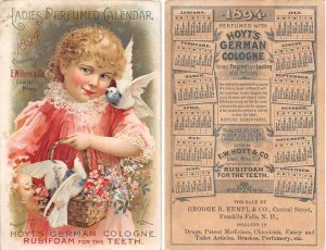 Victorian Trade Card Approx size inches = 3.5 x 5.5 Pre 1900 crease left top ...